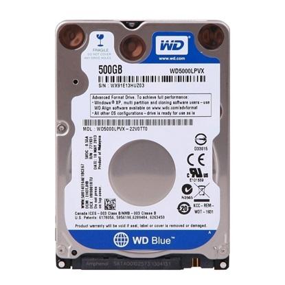 "Western Digital Εσωτερικός Σκληρός Δίσκος 500GB (Blue 2.5"") (WD5000LPCX)"