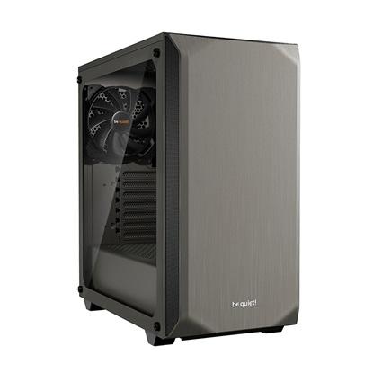 Be Quiet Case Pure Base 500 Window Metallic Gray (BGW36) (BQTBGW36)