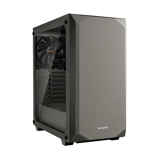 Be Quiet Case Pure Base 500 Window Metallic Gray (BGW36) (BQTBGW36)