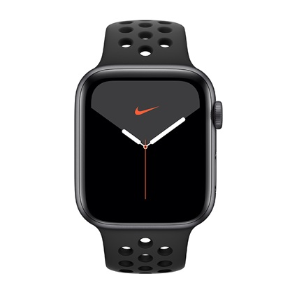 Watch Apple Nike Series 5 GPS 44mm Grey Aluminum Case with Sport Band - Black EU (MX3W2GK)