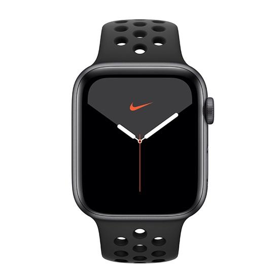 Watch Apple Nike Series 5 GPS 44mm Grey Aluminum Case with Sport Band - Black EU(MX3W2GK)
