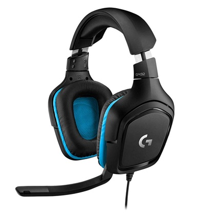 Logitech G432 Gaming Headset (981-000770) (LOGG432)
