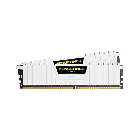 Corsair RAM Vengeance LPX DDR4 3200MHz 32GB Kit White (2 x 16GB) (CMK32GX4M2B3200C16W) (CORCMK32GX4M2B3200C16W)