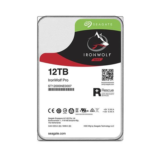Εσωτερικός Σκληρός Δίσκος SEAGATE 3.5'' 12TB Ironwolf PRO (ST12000NE0008) (SEAST12000NE0008)
