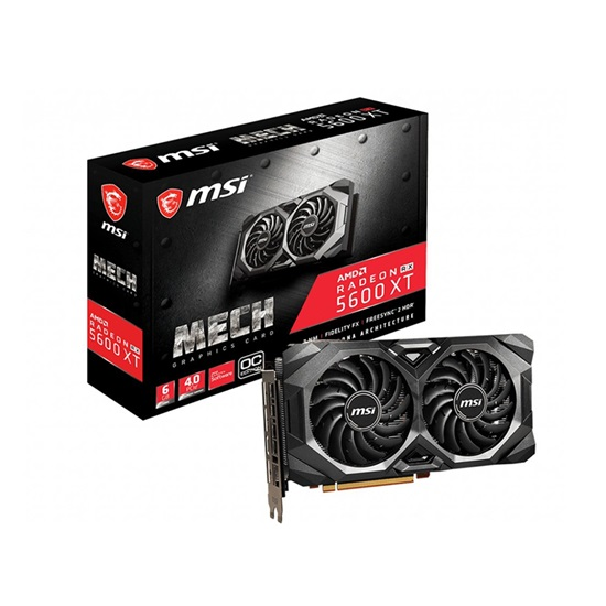 VGA MSI Radeon RX 5600 XT 6GB MECH OC (V381-227R) (MSIV381-227R)