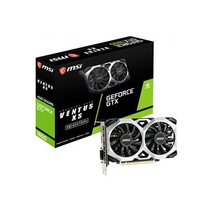 VGA MSI GeForce GTX 1650 4GB D6 Ventus XS OC (V809-3445R) (MSIV809-3445R)