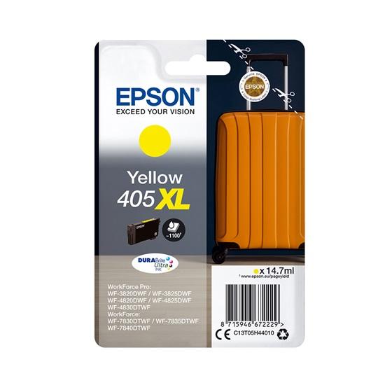 Epson Μελάνι Inkjet 405XL Yellow (C13T05H44010) (EPST05H440)