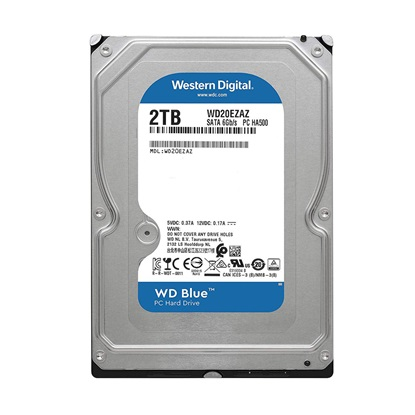 "Western Digital Εσωτερικός Σκληρός Δίσκος 2 TB (Blue 3.5"") (SMR) (WD20EZAZ)"