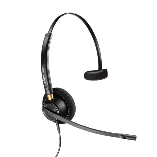 Plantronics EncorePro HW510 On-Ear Headset wired (89433-02)