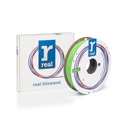 REAL PLA 3D Printer Filament - Nuclear Green - spool of 0.5Kg - 1.75mm (REFPLANGREEN500MM175)
