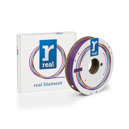 REAL PLA 3D Printer Filament - Purple - spool of 0.5Kg - 1.75mm (REFPLAPURPLE500MM175)