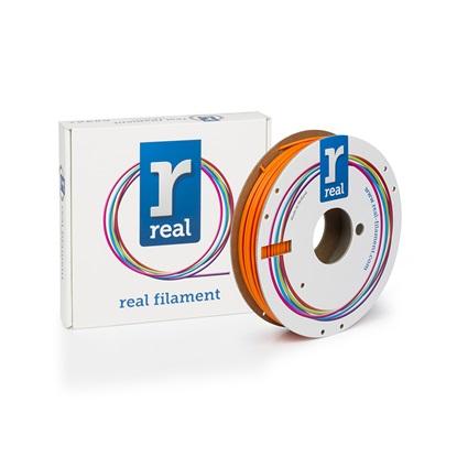 REAL PLA 3D Printer Filament - Orange - spool of 0.5Kg – 2.85mm (REFPLAORANGE500MM3)