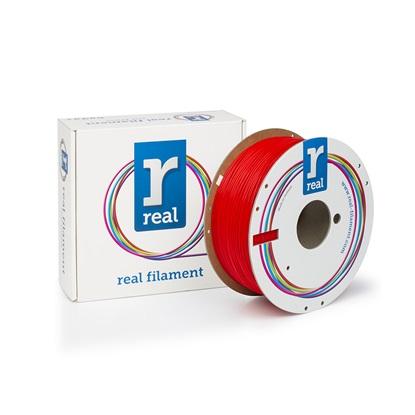 REAL PLA 3D Printer Filament - Red - spool of 1Kg - 1.75mm (REFPLARED1000MM175)
