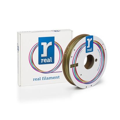 REAL PLA 3D Printer Filament - Gold - spool of 0.5Kg - 2.85mm (REFPLAGOLD500MM3)