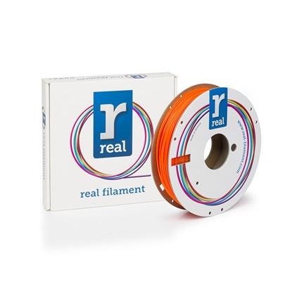 REAL PETG 3D Printer Filament - Translucent Orange - spool of 0.5Kg - 1.75mm (REFPETGORANGE500MM175)