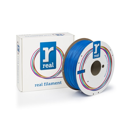 REAL PETG 3D Printer Filament - Blue - spool of 1Kg - 1.75mm (REFPETGSBLUE1000MM175)