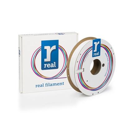 REAL PETG 3D Printer Filament - White – spool of 0.5Kg - 1.75mm (REFPETGSWHITE500MM175)