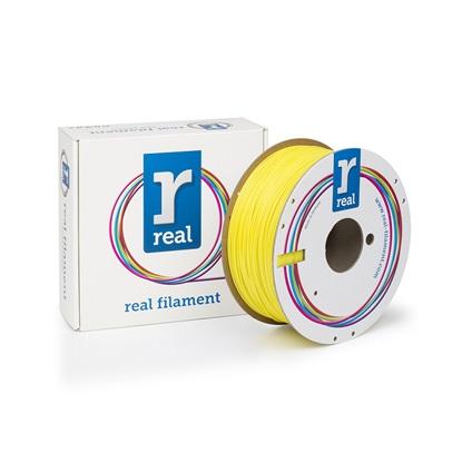 REAL PETG 3D Printer Filament - Yellow - spool of 1Kg - 1.75mm (REFPETGSYELLOW1000MM175)