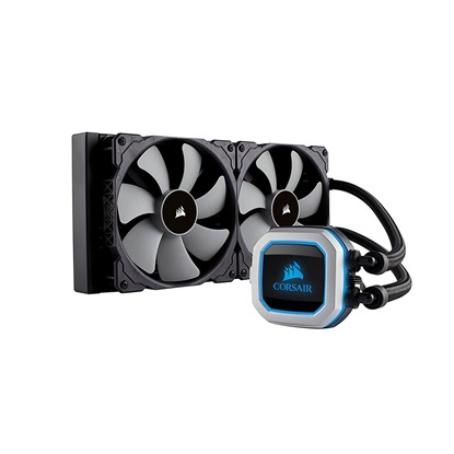 Corsair H115i PRO RGB 280mm Liquid CPU Cooler (CW-9060032-WW) (CORCW-9060032-WW)