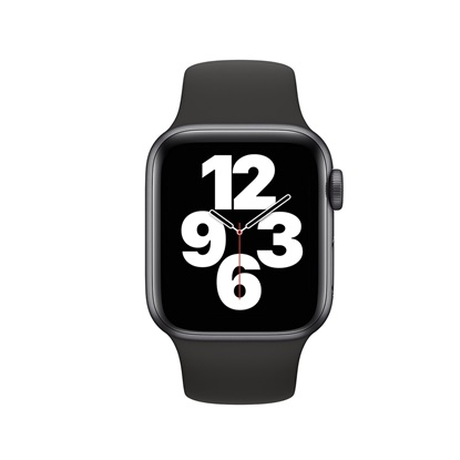 Watch Apple Series SE GPS 40mm Space Gray Aluminum Case with Black Sport Band (MYDP2FD/A)