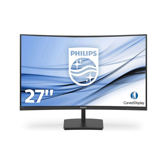 "PHILIPS 272E1SCA Curved Led VA Monitor 27"" with speakers (271E1SCA) (PHI271E1SCA)"