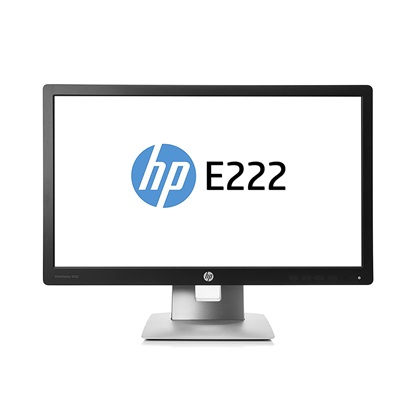 Refurbished  HP Monitor E222 21.5''  Full HD with Webcam