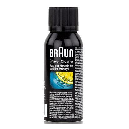 Braun Shaver Cleaning Spray Lemonfresh Formula 100ml (213475) (BRA196343)