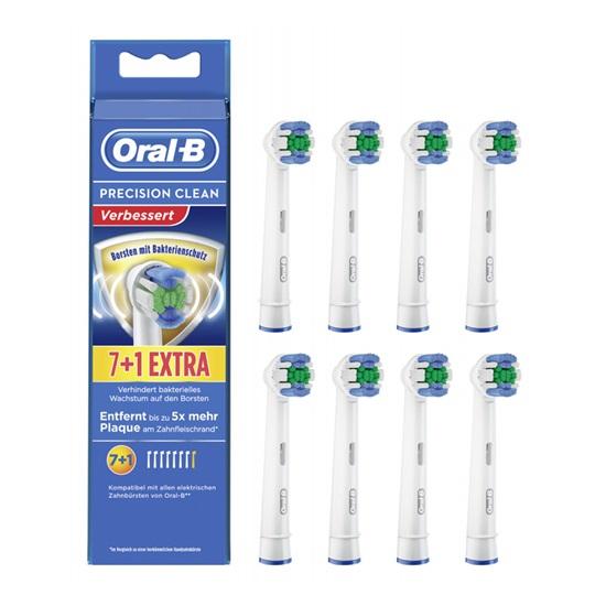 Ανταλλακτικά Oral-B Toothbrush Heads Precision Clean 7+1 Pack (420009) (BRA420009)