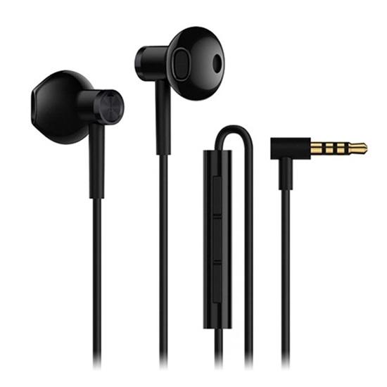 Xiaomi Mi Dual Driver Earphones Black Wired (ZBW4407TY) (XIAZBW4407TY)