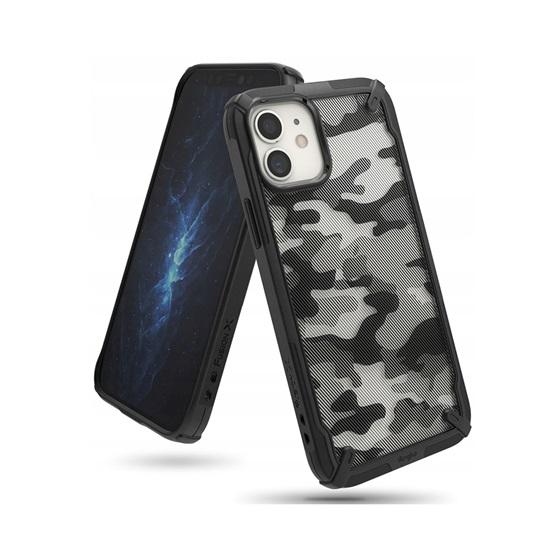 Ringke Fusion X iPhone 12 Mini Camo Black (XDAP0015) (RINXDAP0015)