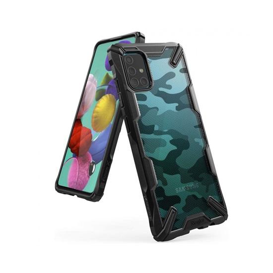 Ringke Fusion X Galaxy A51 Camo Black (XDSG0023) (RINXDSG0023)