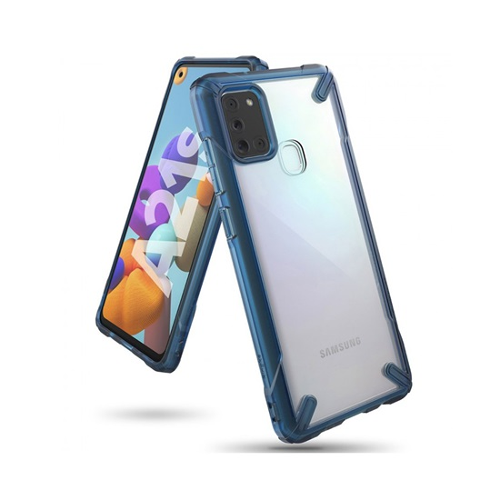 Ringke Fusion X Galaxy A21s Space Blue (FUSG0060) (RINFUSG0060)