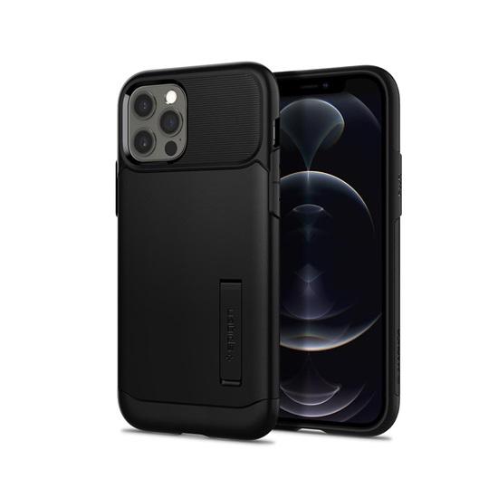 Spigen Slim Armor iPhone 12/12 Pro Black (ACS01523) (SPIACS01523)