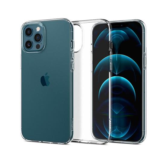 Spigen Liquid Crystal iPhone 12/12 Pro Crystal Clear (ACS01697) (SPIACS01697)