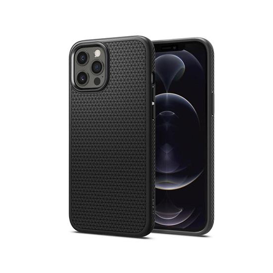 Spigen Liquid Air iPhone 12/12 Pro Matte Black (ACS01701) (SPIACS01701)