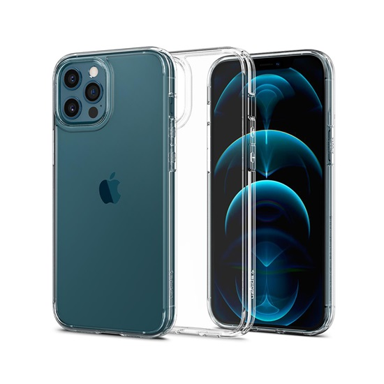 Spigen Ultra Hybrid iPhone 12/12 Pro Crystal Clear (ACS01702) (SPIACS01702)
