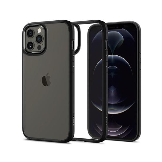 Spigen Ultra Hybrid iPhone 12/12 Pro Matte Black (ACS01703) (SPIACS01703)