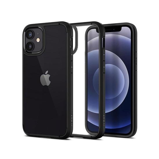 Spigen Ultra Hybrid iPhone 12 Mini Matte Black (ACS01746) (SPIACS01746)