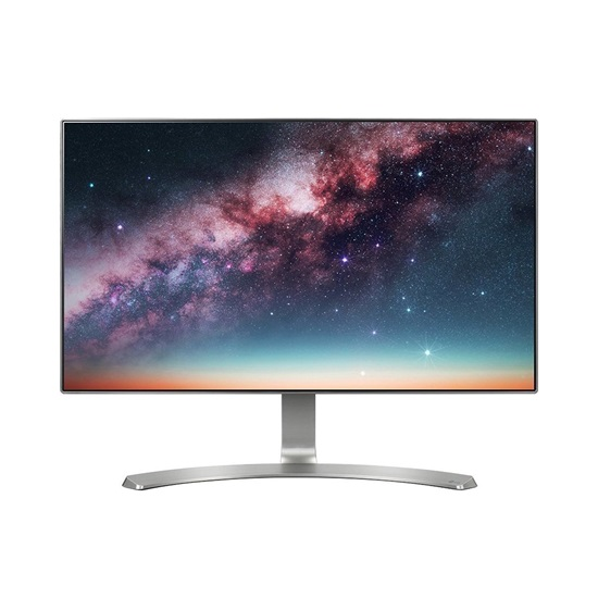 "LG 24MP88HV-S Led IPS FHD Monitor 24"" (White) with speakers (24MP88HV-S) (LG24MP88HV-SB)"