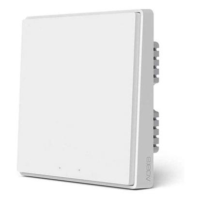 Xiaomi Aqara Smart Wall Switch D1 without Neutral, Smart Home Kit Accessories Single Rocker (QBKG21LM) (XIAQBKG21LM)