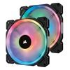 Corsair Case Fan LL140 140mm RGB Dual Light Loop PWM 2 Fan Pack (CO-9050074-WW) (CORCO-9050074-WW)