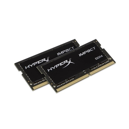 Kingston RAM HyperX Impact DDR4-2666 SODIMM 16GB Kit (2X8GB) (HX426S15IB2K2/16)