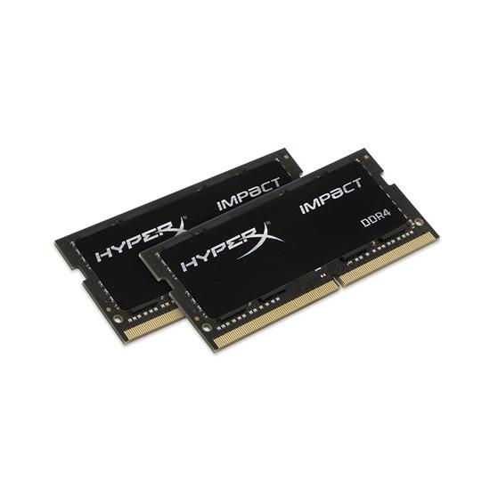 Kingston RAM HyperX Impact DDR4-2666 SODIMM 16GB Kit (2X8GB) (HX426S15IB2K2/16)