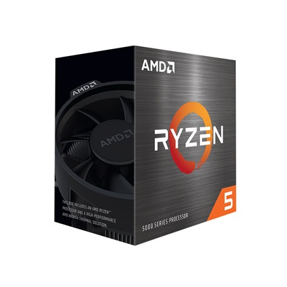 Επεξεργαστής AMD RYZEN 5 5600X Box AM4 (3,70Hz) with Wraith Spire cooler (100-100000065BOX) (AMDRYZ5-5600X)