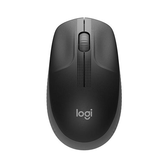 Logitech M190 Full-Size Wireless Mouse Black (910-005905)