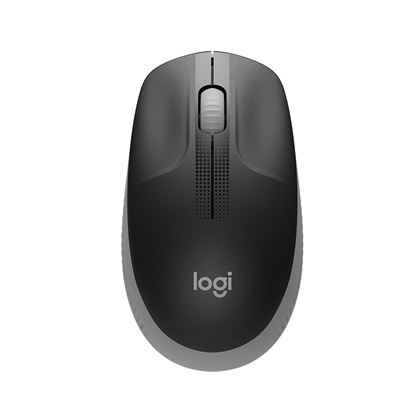 Logitech M190 Full-Size Wireless Mouse Grey (910-005906)