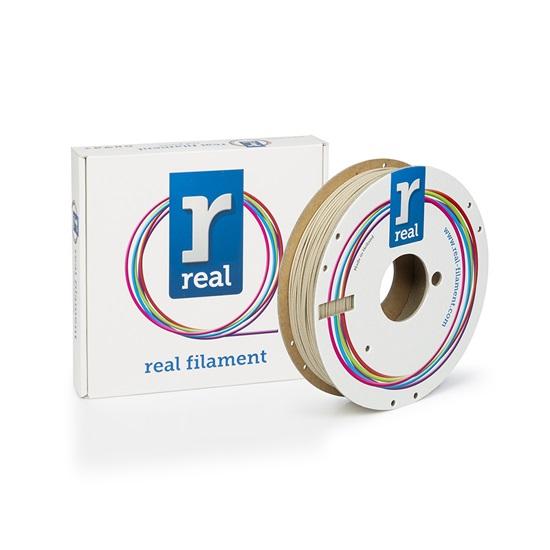 REAL PLA 3D Printer Filament - Wood - Spool of 0.50Kg - 1.75mm (REFPLAWOOD750MM175)