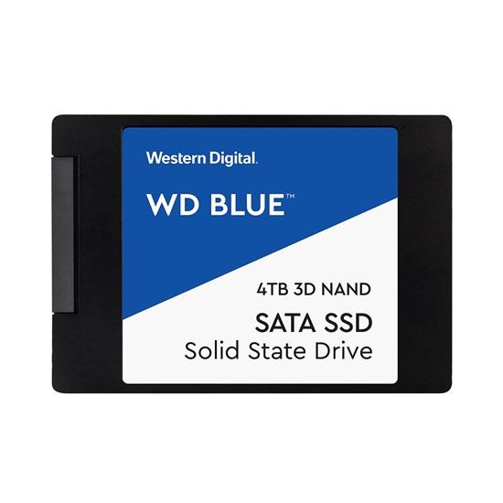 Western Digital Δίσκος SSD 2.5'' SATA III Blue 4TB (WDS400T2B0A)