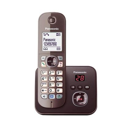 Ασύρματο Τηλέφωνο Panasonic KX-TG6821GA Mocca-Brown (KX-TG6821GA) (PANKX-TG6821GA)