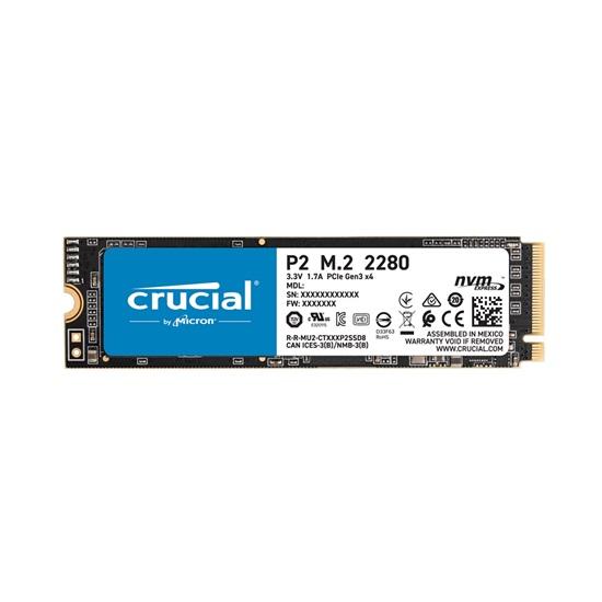 Crucial SSD P2 1TB 3D NAND NVME PCIe M.2  (CT1000P2SSD8) (CRUCT1000P2SSD8)